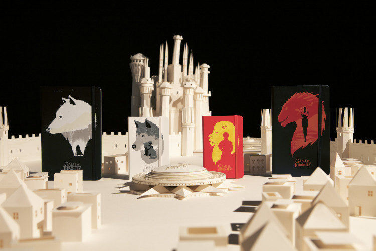 MOLESKINE GAME OF THRONES
