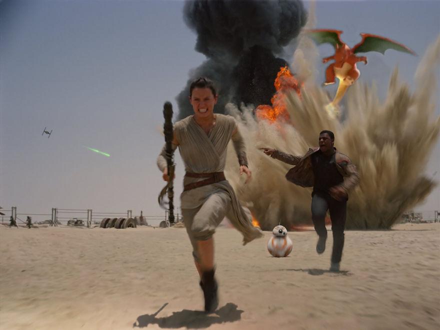 Charizard in Star Wars