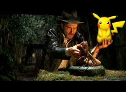 Pikachu Indiana Jones
