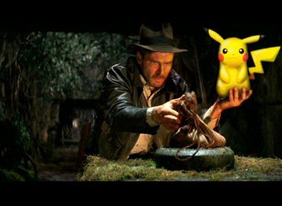 Pikachu Indiana Jones