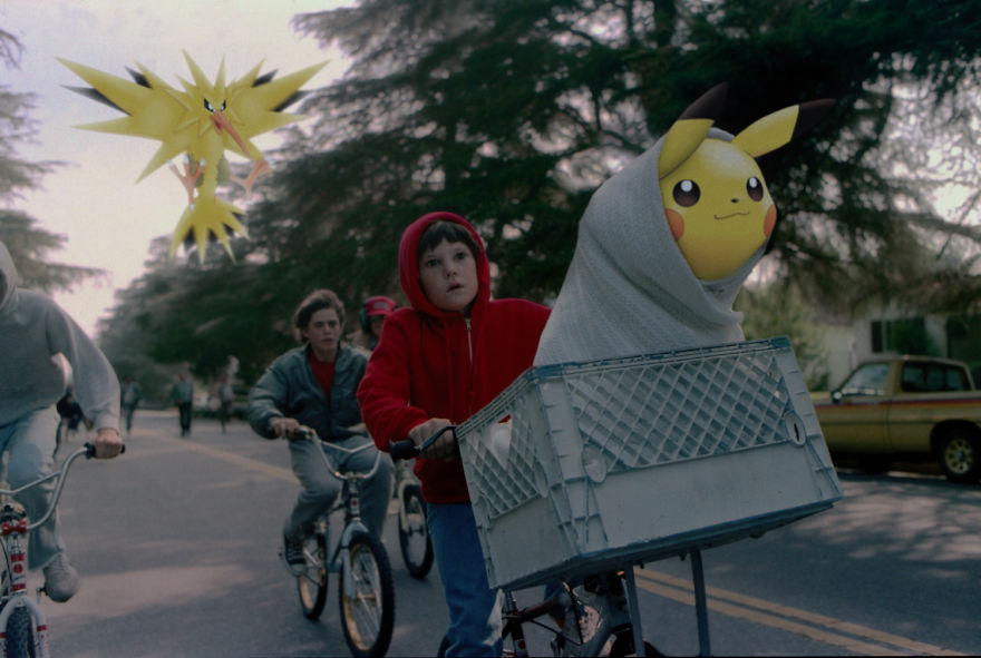 Pikachu and Zapdos in ET