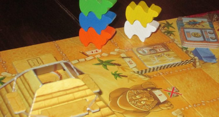Camel Up boardgame