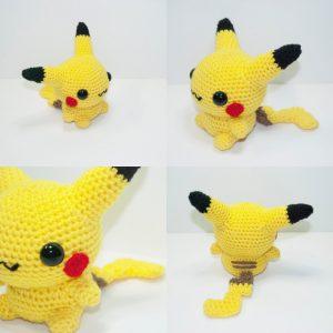 pokemon fatti a maglia