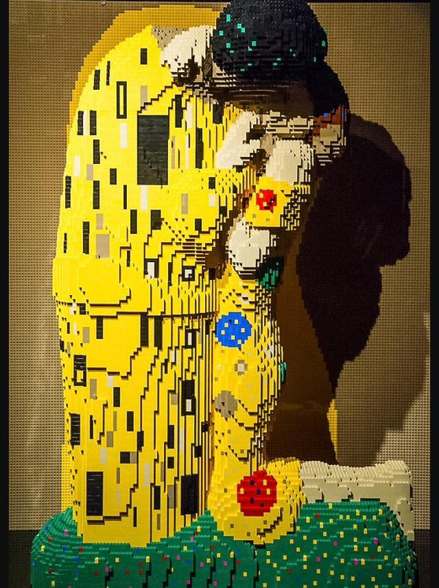 the art of the brick milano