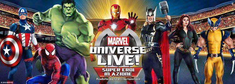 marvel universe live milano