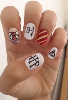 nail-art-harry-potter