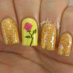 nail-art-la-bella-e-la-bestia