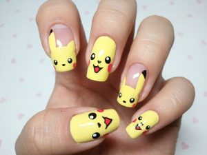 NAIL ART POKEMON