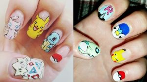 NAIL ART-pokemon