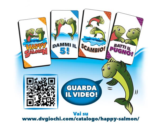Happy Salmon giochi per bambini natale