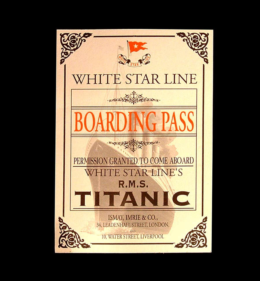 mostra TITANIC - THE ARTIFACT EXHIBITION