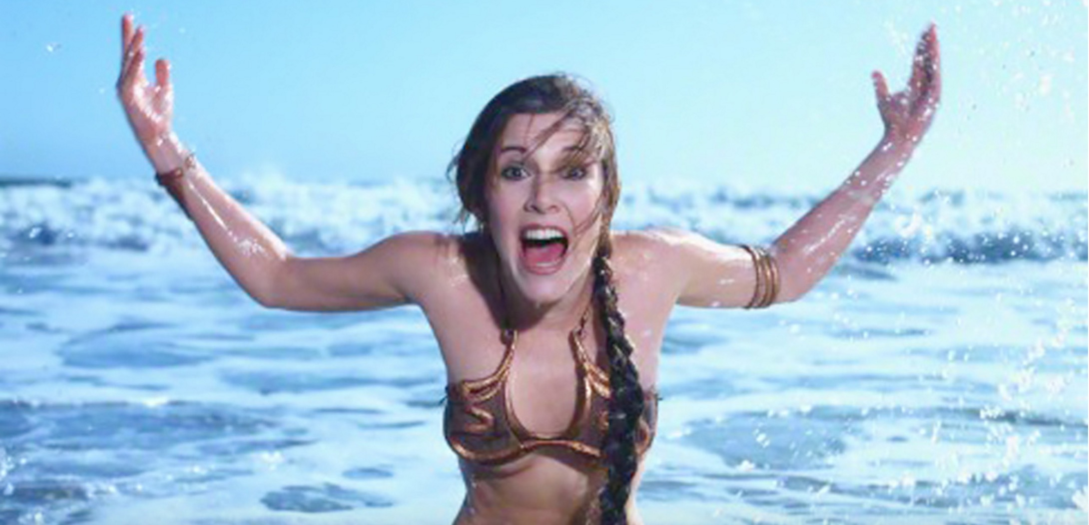 carrie fisher - principessa Leila