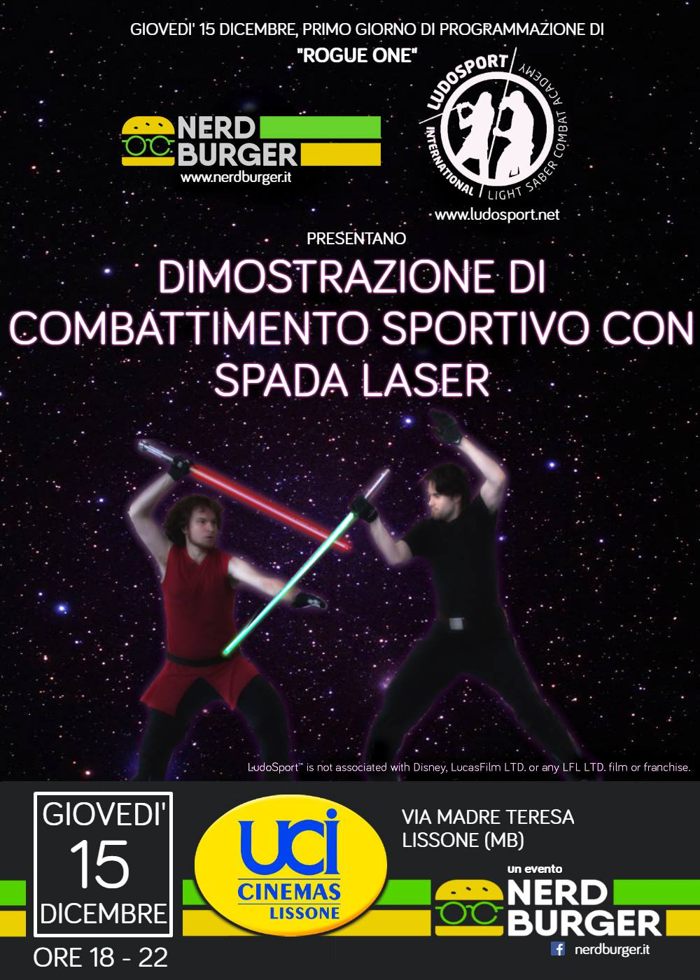 Rogue One UCI Lissone