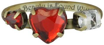 anello bella e la bestia regali di san valentino