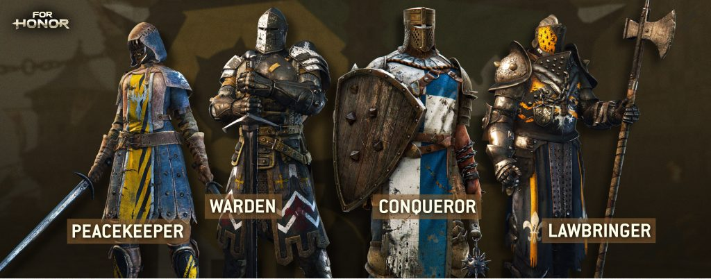 for Honor Warriors_wip_v1