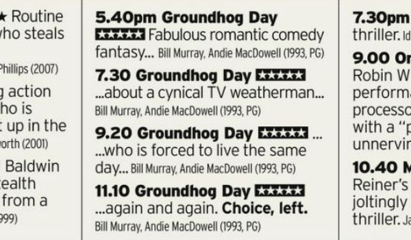 groundhog day 25