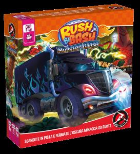 rush and bash red glove