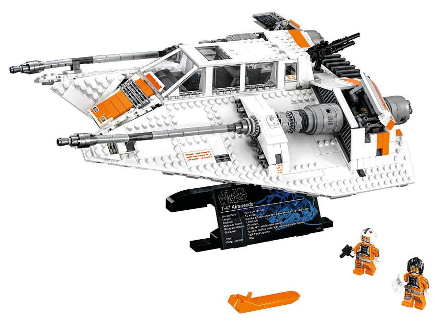 Snowspeeder lego