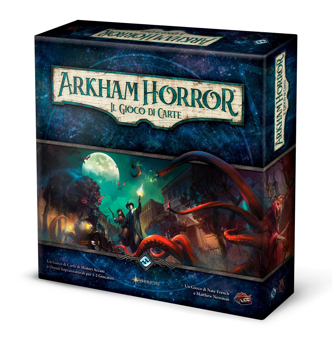 arkham horror il gioco di carte