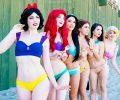 Bikini Disney Princess, per essere Principesse anche al mare!
