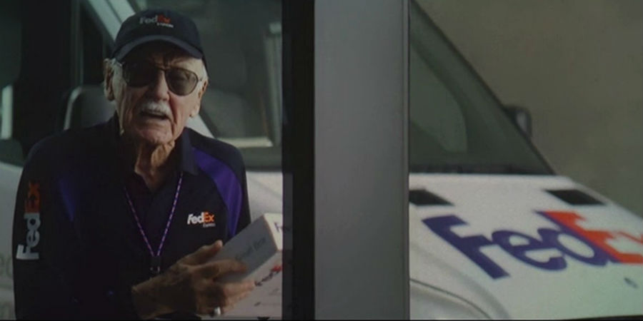 Stan Lee fattorino FedEx
