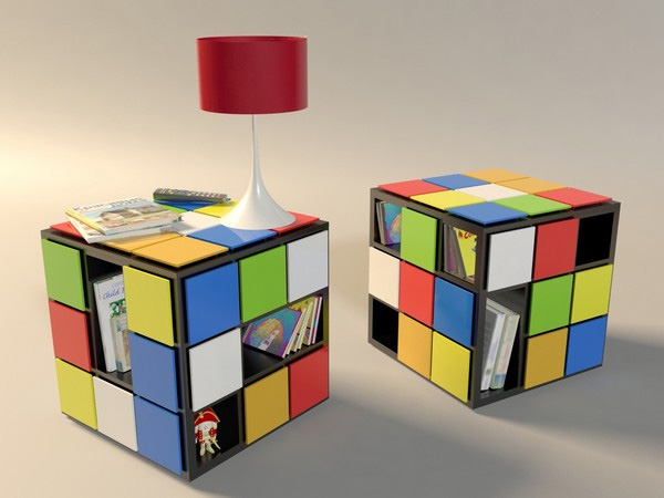 Tavolino Cubo Rubik