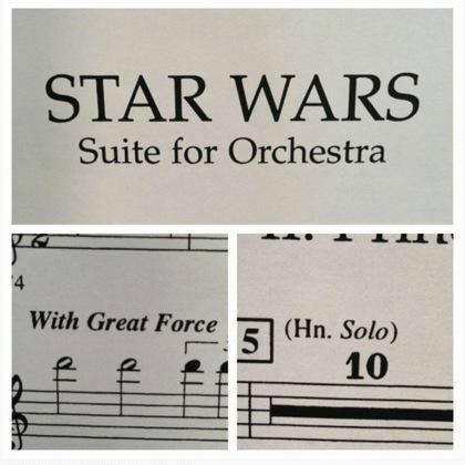 Partitura della colonna sonora: dicesi 'genio'...