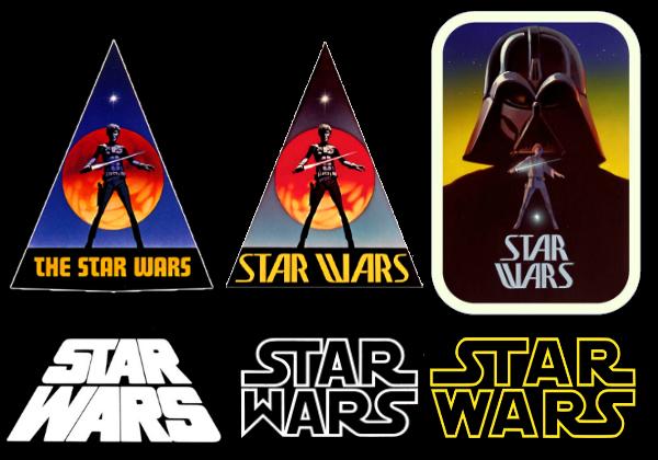 Evoluzione del logo nei primi anni