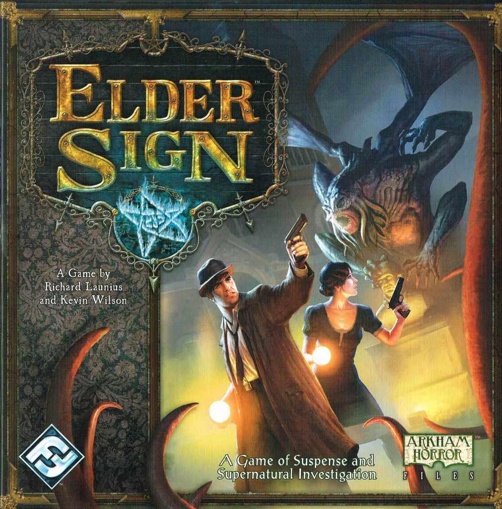 lovecraft boardgames elder sign