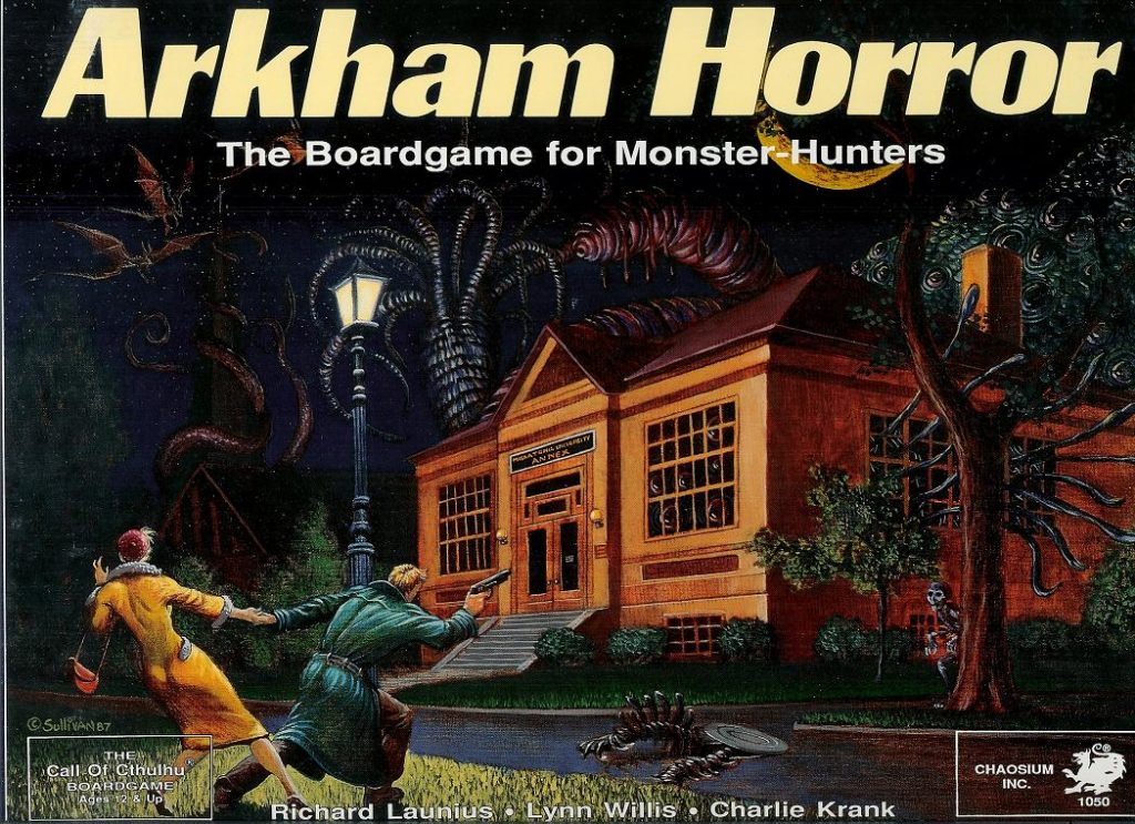 lovecraft boardgames arkham horror 1987