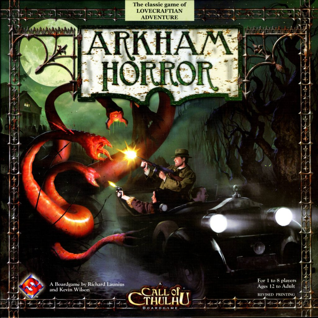 lovecraft boardgames arkham horror 2005