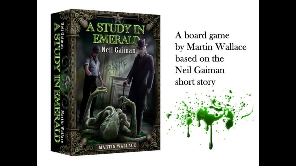 lovecraft boardgames a study in emerald