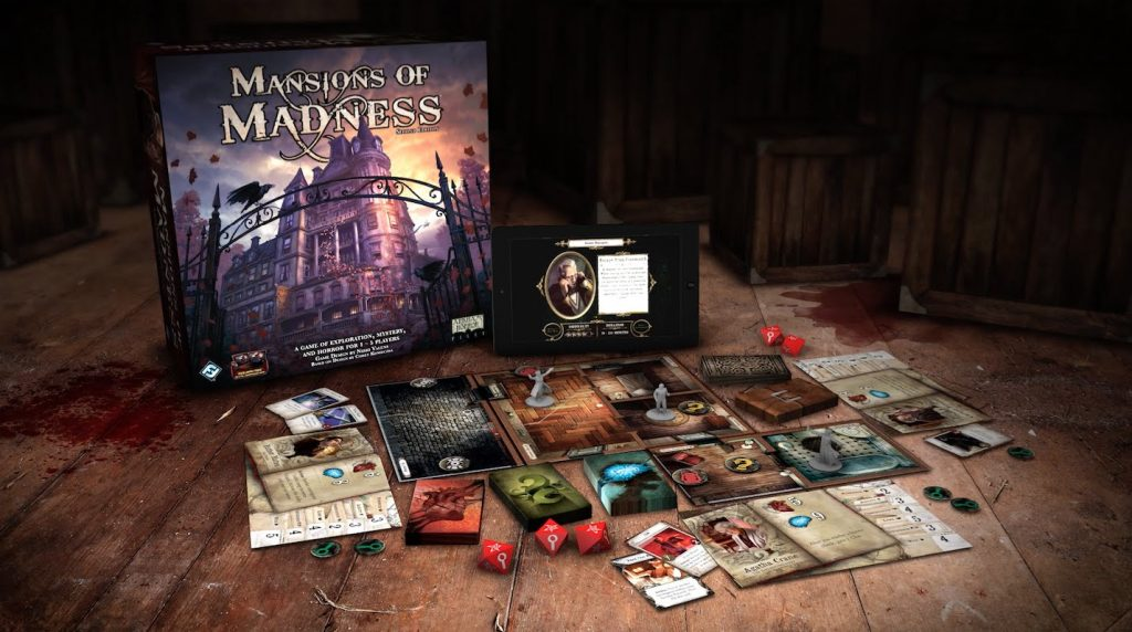 lovecraft boardgames mansion of madness