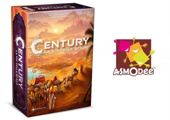 novità asmodee century