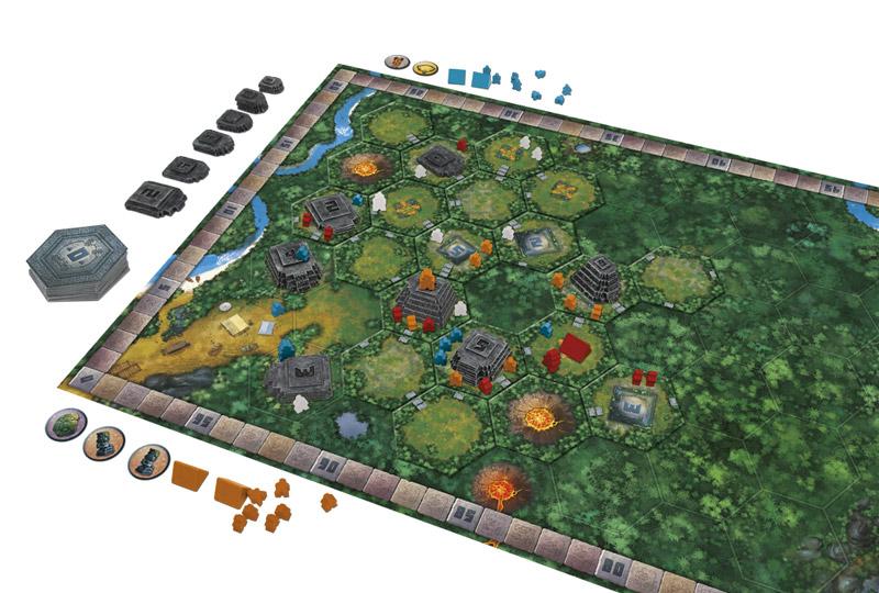 Tikal boardgame
