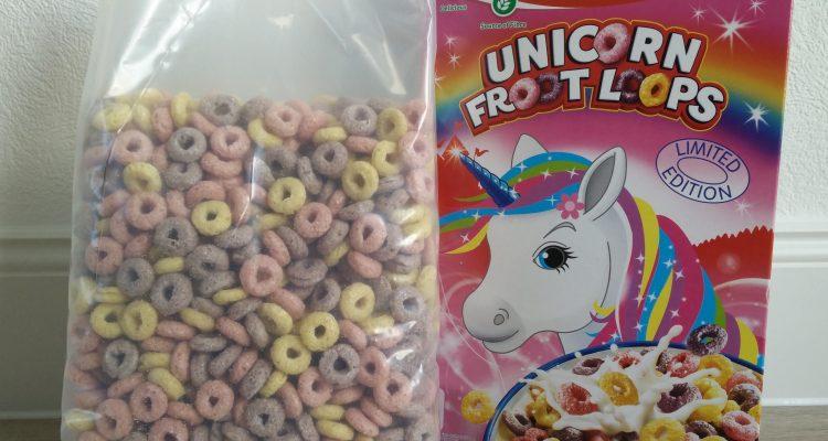 cereali kellogg's unicorno