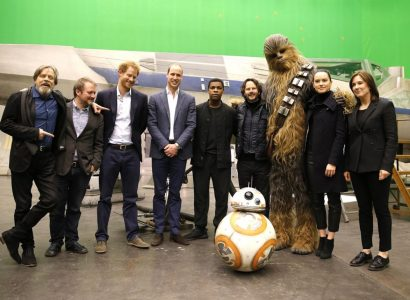 William e Harry Star Wars
