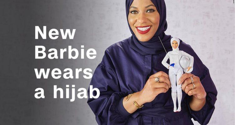Barbie con il velo islamico