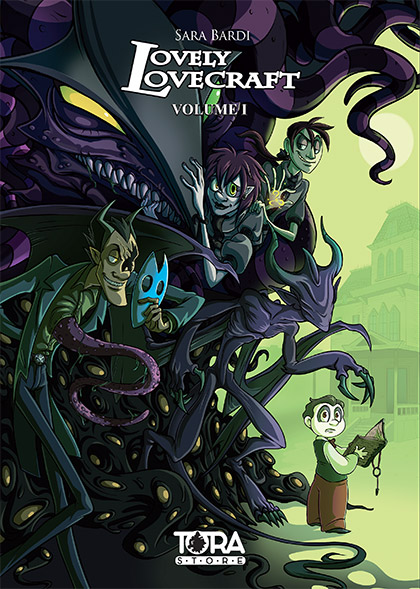 lovely lovecraft fumetti su Lovecraft