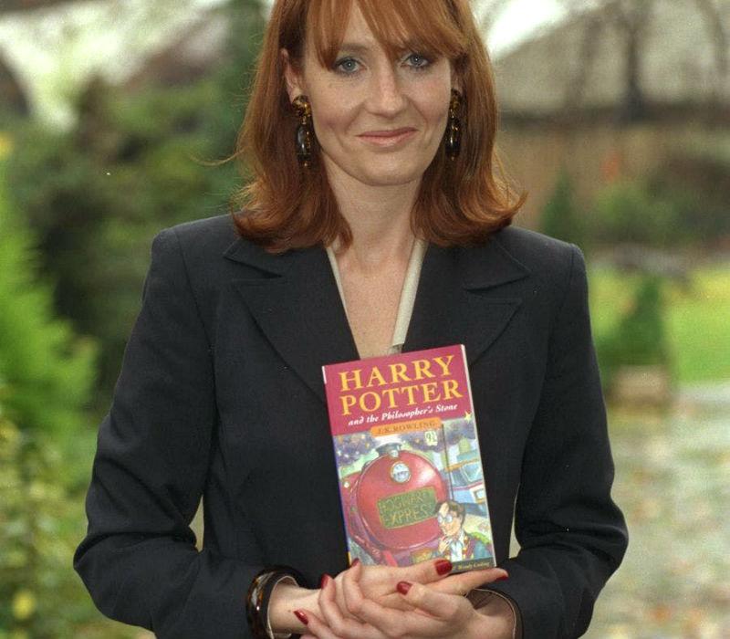 J.K. Rowling, l'autrice dei libri di Harry Potter