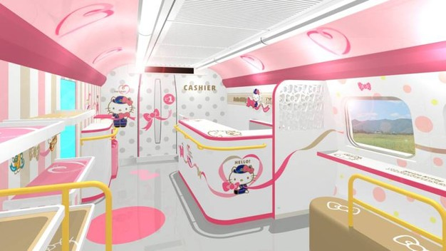 Treno di Hello Kitty