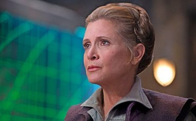 Carrie Fisher Episodio IX