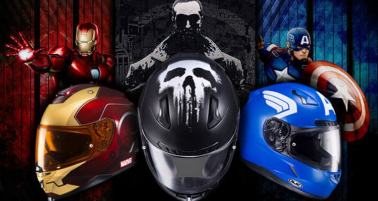 HJC Helmets Marvel caschi nerd