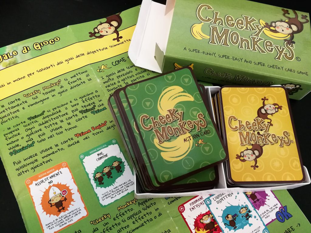 Cheeky Monkeys gioco