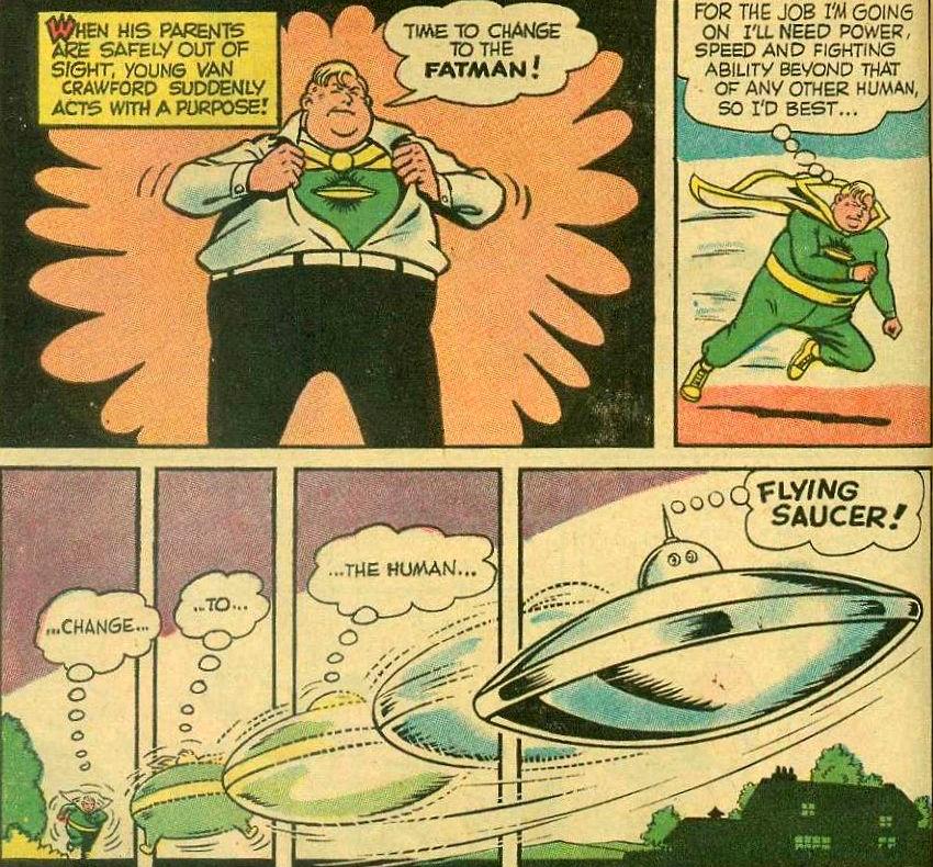 Peggiori supereroi Fatman