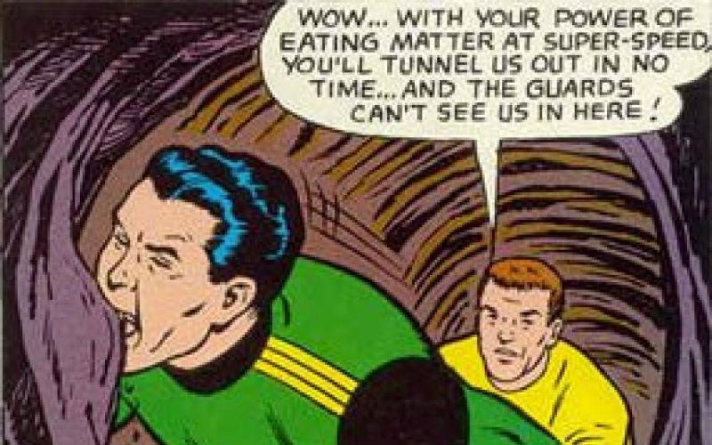 Peggiori supereroi Matter-eater Lad