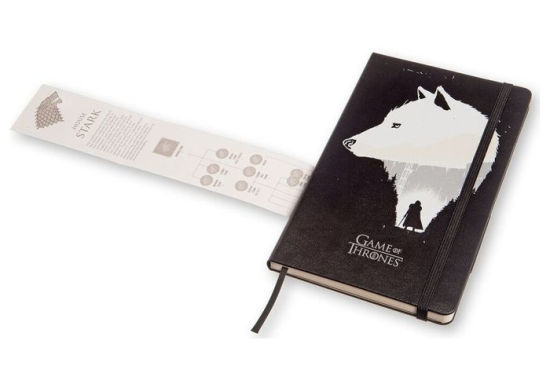 MOLESKINE GAME OF THRONES STARK