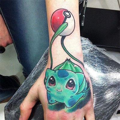 pokemon tattoo