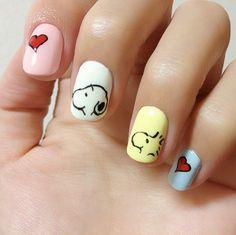 nail-art-snoopy