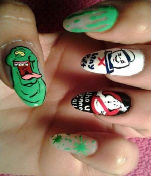 Nail Art-nerd-ghost-busters